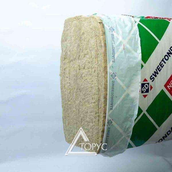 Минвата Роклайт(600х1200х100 мм) 2,88 кв.м.(4 пл,) Плотность 30 кг/м.куб