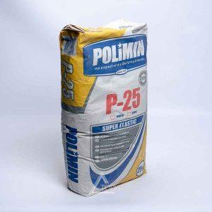Клей для бассейнов и террас П-25 Супер-Эласт Полимин (25кг)
