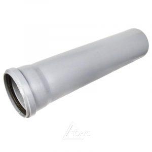 Труба 110 L1000 ПВХ серая (2,2)