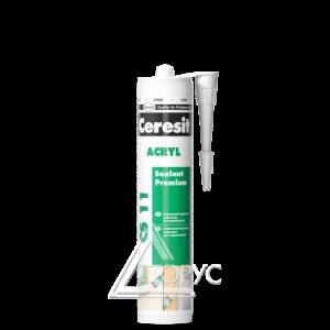 Герметик CERESIT акрил. белый CS11  (280 мл)