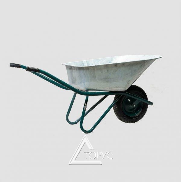 Тачка строит.1-колесная WB9618К каучук. колесо,  90/170л, 200 кг