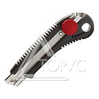 Нож с мет. направляющей 18мм с отломным лезвием (HT- 0506) РАСПРОДАЖА