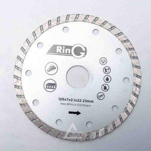 Алмазный диск Ring 125 (Турбоволна)