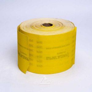 Шлиф.шкурка на бумаге 115мм*50м Р120 жел