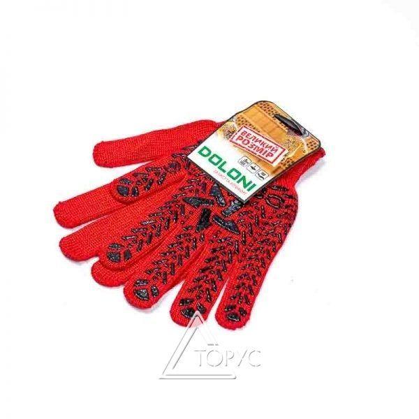 Перчатки Doloni ЗВЕЗДА красная (4040)