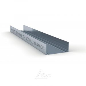 Профиль КНАУФ UW-100 4 м (0,60 мм)