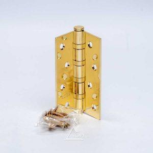 Петля универ. 100*75х2,5 В4-G золото комплект 2 шт.