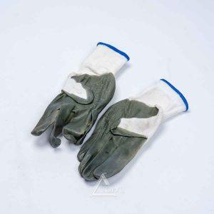 Перчатки нитрил серая