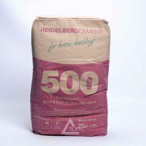 Цемент ПЦ-500 Д0 Кр.Рог-Завод (25 кг)