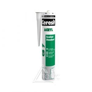 Герметик CERESIT акрил. белый CS7  (280 мл)