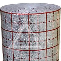 Подложка метал с разметкой 5.0мм 50м