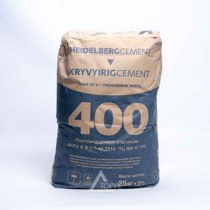 Цемент ПЦ II/А-Ш-400 Кр.Рог-Завод СИНИЙ (25кг)