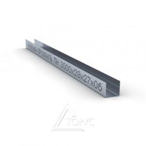 Профиль КНАУФ UD 27/28 4 м (0,60 мм)