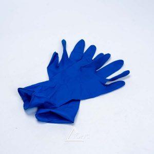 Перчатки нитрил синие M/L