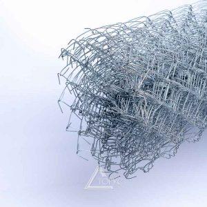 Сетка рабица оц. 50*50мм, 1,5*10м d-2,0мм