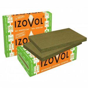 Минвата ИЗОВОЛ (600х1000х50 мм) 4,8 кв.м.(8 пл,) Плотность 30 кг/м.куб