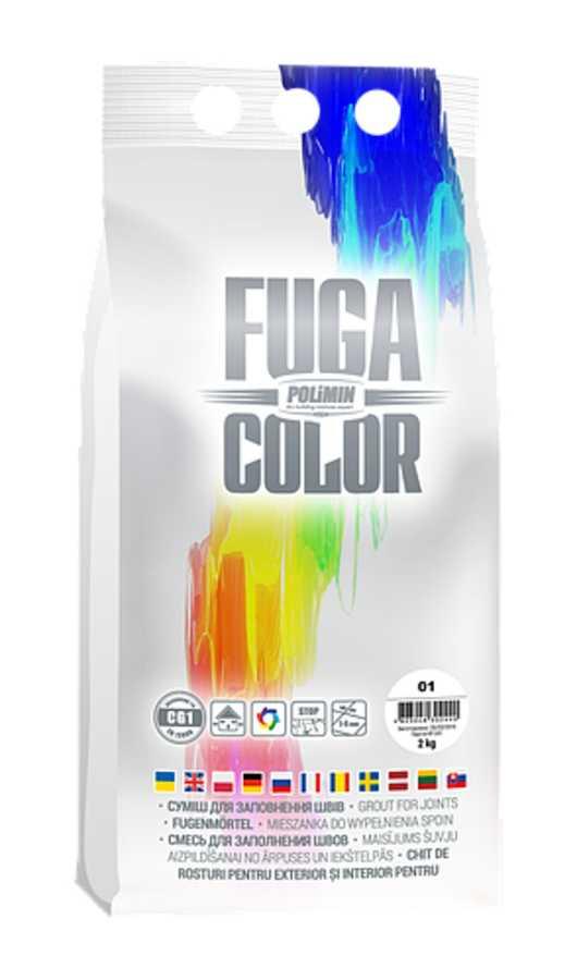 Наполнитель швов POLIMIN Fuga белый №01 (2 кг)