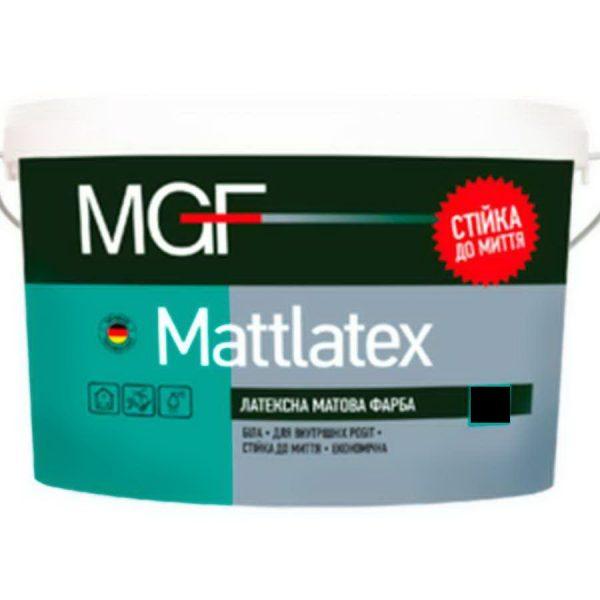 Краска латексная MGF Mattlatex M100 (1л, 1.4кг)