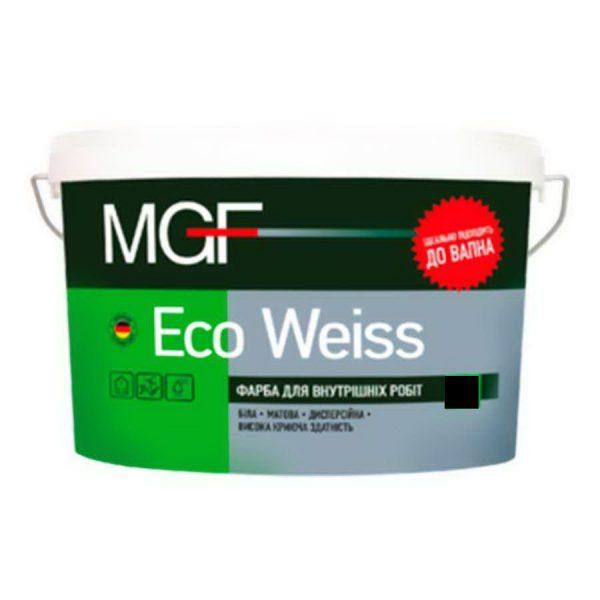 Краска интерьерная MGF Ecoweiss M1 (5л, 7кг)