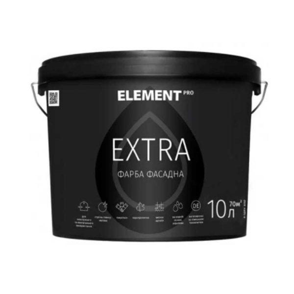 Краска фасадная Элемент PRO EХTRA база А білий(10л) 15,6кг