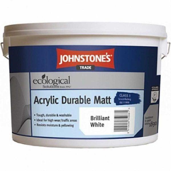 Краска акриловая ДЖОН СТОУН Acrylik Durable Matt(10 л)