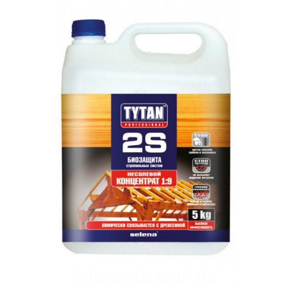 Биозащита для дерева TYTAN 2S 5 кг зеленый (концентрат 1:9)