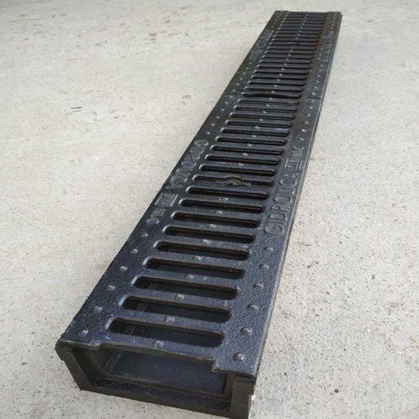 Комплект глубокого водоотведения с 2 решетками