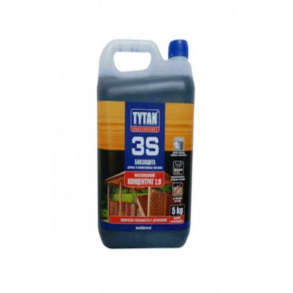 Биозащита для дерева TYTAN 3S 5 кг зеленый (концентрат 1:9)