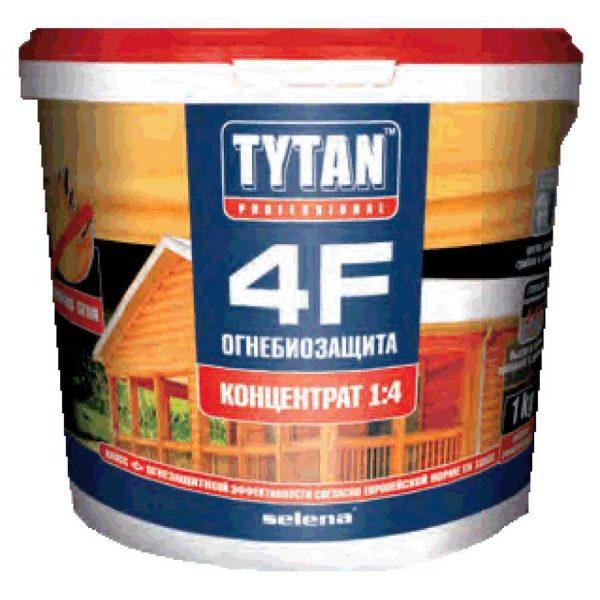 Огнебиозащита для дерева TYTAN 4F 1 кг
