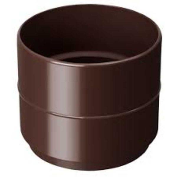 Муфта трубы 75 Rainway коричневый