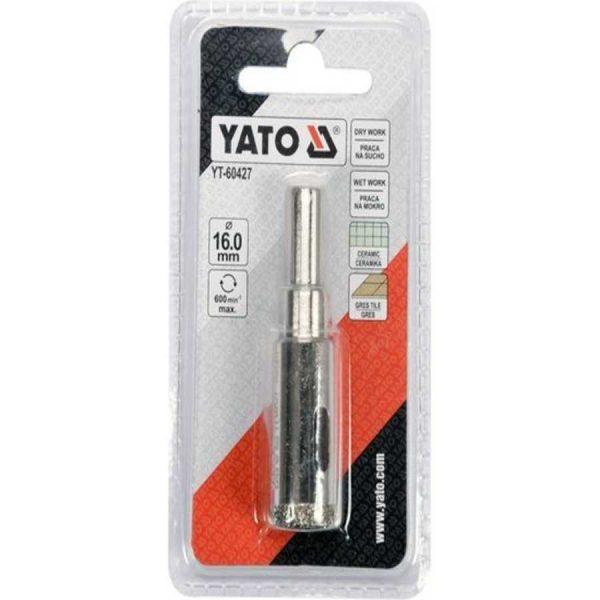 Сверло по гресу и керамике YATO YT - 60427 16 мм