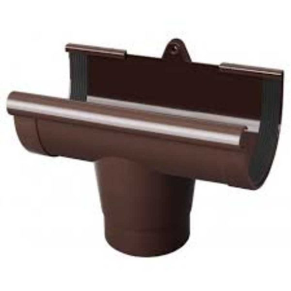 Лейка желоба 90 Rainway коричневый