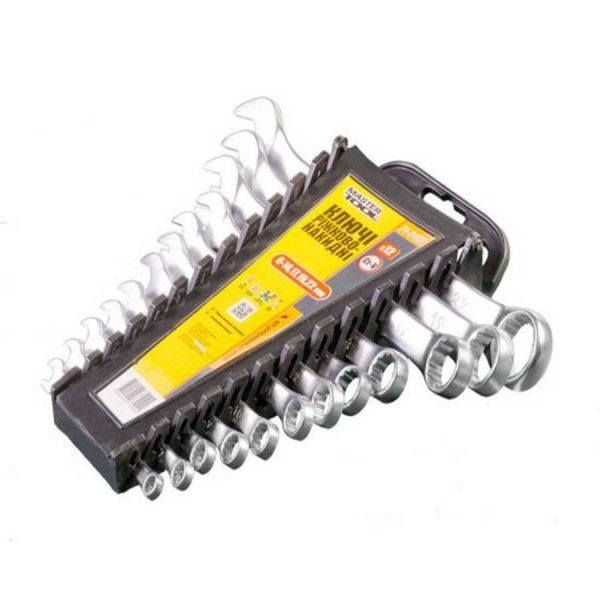 Набор ключей рожково-накидные 12 шт(6-14,17,19,22)MasterTool HT 1203