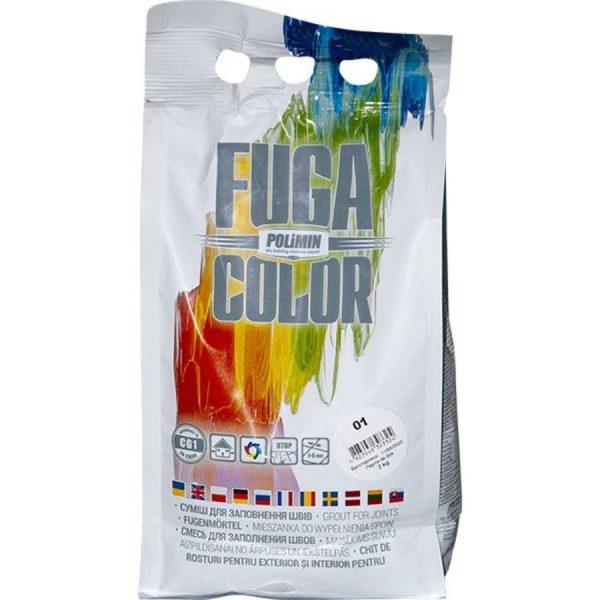 Наполнитель швов POLIMIN Fuga светло-серый №14 (2 кг)